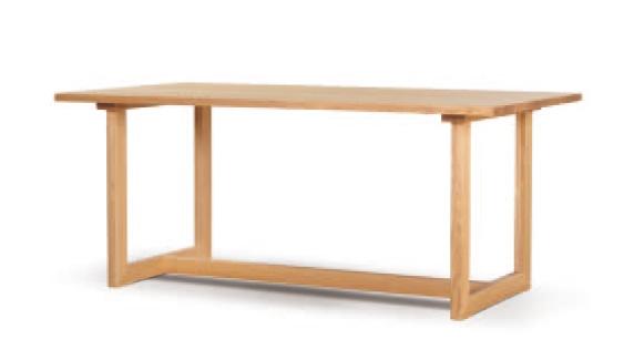 和弦-口型脚テーブル1350
